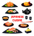 japanese cuisine icon of traditional asian food