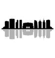 milano skyline vector image vector image