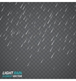 Rain vector image vector image