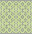 seamless retro geometric snowfall pattern vector image vector image