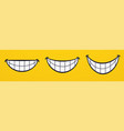 smile smiling lips mouth cheerful face emotions vector image vector image