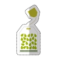 tea bag product isolated icon vector image vector image