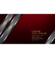 textured dark design with red marble effect and vector image vector image