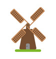wind mill icon image vector image