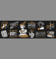 antique shop labels or badges set collection