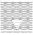 Backgound of line geometric hipster vintage design vector image vector image
