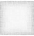 Background With Threads White Gray Linen vector image