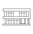 building apartment iconoutlineline vector image vector image