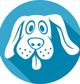 Dog Icon vector image vector image