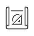 engineering design icon vector image vector image