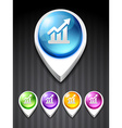 growth icon vector image vector image