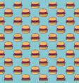 hamburger background design vector image vector image
