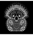 Hand drawn Echidna Australian animal vector image vector image