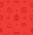ramadhan kareem pattern vector image vector image
