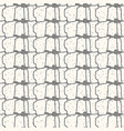 seamless abstract pattern with lines and vector image vector image