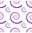 seamless pattern with spirals gradient spirals vector image vector image