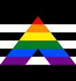 stright ally pride community flag lgbt symbol