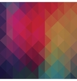 Triangle neon geometric background vector image vector image