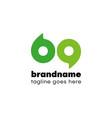 69 logo number bq ba icon shape