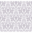 damask seamless pattern element classical vector image vector image