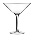 Martini glass vector image vector image