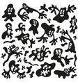 microbesmonsters - doodles set vector image vector image