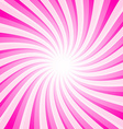 Pink Background - Spiral - Star Shape Pattern vector image vector image