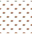 Roasted turkey pattern cartoon style vector image