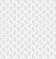 Slim gray horizontal spirals winging vector image vector image