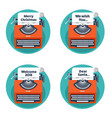 typewriter in a flat style christmas wish list vector image