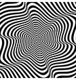 wavy rotation movement vector image