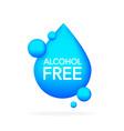 alcohol free icon symbol
