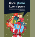 black friday christmas and happy new year vector image vector image