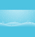 christmas holiday background winter snow december vector image