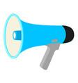 colorful cartoon megaphone vector image