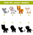 Find correct shadow education game