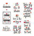 love quotes vintage lettering for t-shirt design vector image vector image