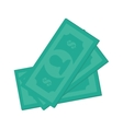 money dollar cash design vector image vector image