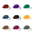mouse toypet shop single icon in black style vector image vector image