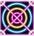 neon laser lines seamless pattern geometric vector image