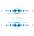 Ottoman motifs design series with thirty two vector image vector image