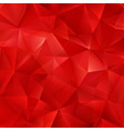 red bright background with triangle shapes vector image vector image
