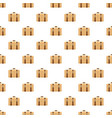 trip leather bag pattern seamless vector image vector image
