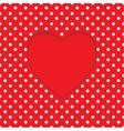Card heart shape Polka-dot background