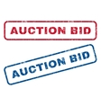 Auction Bid Rubber Stamps