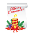 Christmas festive set vector image