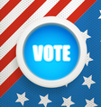 Composition for The Ellection Day vector image vector image
