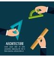 instruments architecture design vector image