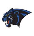 jaguar logo mascot vector image vector image