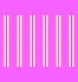 pink princess color striped seamless pattern vector image vector image